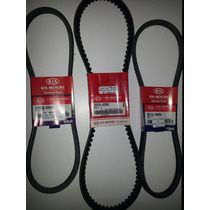 Kit Correas Accesorios Original Kia Pregio 3.0 (2007-2013)