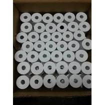 Rollo Papel Termico 80mm X 65mm Blanco Para Impresora Fiscal
