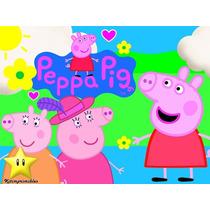 Kit Imprimible Peppa Pig La Cerdita Diseñá Tarjetas Cotillon