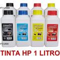 Tinta Para Hp Vivera Color Y Negro 1 Litro Alta Calidad Xtc