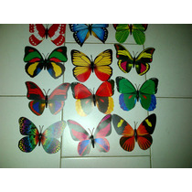 Mariposas Decorativas Con Iman