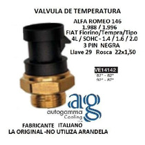 Válvula Temperatura Radia Fiat Palio(87°-82° 92°-87°) Autog