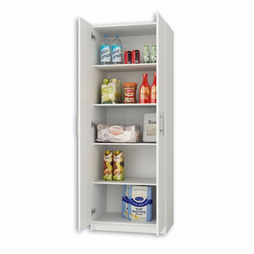 Gabinetes cocina muebles 2 puerta despensa casalista - Muebles despensa cocina ...