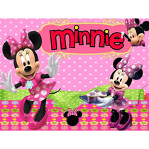 Kit Imprimible Minnie Mouse Tarjeta Decoracion Fiesta Globos