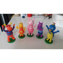 Los Backyardigans En Masa Flexible