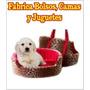 Patrones, Moldes, Manual Bolsos Y Camas Para Perros Y Gatos