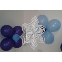 Copos De Nieve 3d Para Decorar Fiestas De Frozen O Navidad.