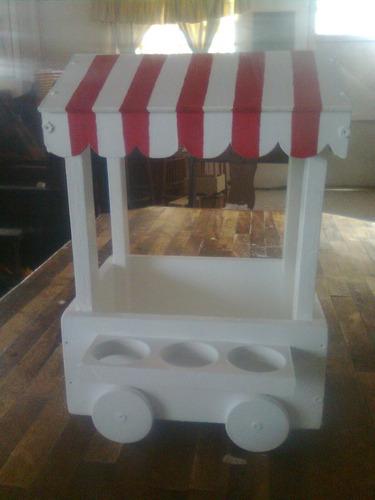Base para ponquesitos candy bar kiosco para dulces bs f for Kiosco bar madera