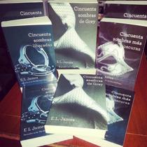 Libro 50 Sombras De Grey 1, 2 Y 3 (fìsico)