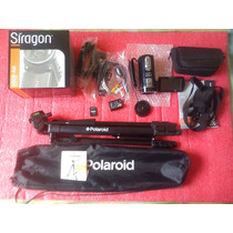 Video Camara Siragon Hv-8000 + Sd 16gb + Tripode Polaroid