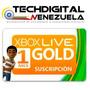 Tarjetas Xbox Live Gold De 1 Mes Completo !! Envio Inmediato