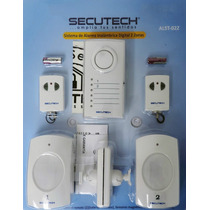 Sistema De Alarma Inalambrica Digital Secutech Alst02