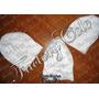 Combo De: 6 Gorros Blanco O De 6 Pañoletas Blancas Para Iyaw