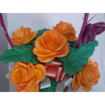Hermosas Flores Termoformadas En Foami