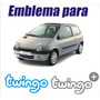 Emblema Tipo Sticker Calcomania Para Renault Twingo