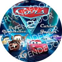 Imagen Para Torta Redonda Cars - Epvendedor