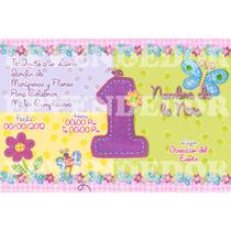 Imagen De Invitacion Mariposas Y Flores -invitaciones Epve