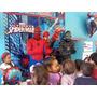 Show Spiderman Hombre Araña Fiesta Super Héroes. Spiderman