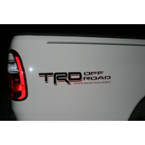 Pdr12 Calcomania Sticker Trd Toyota Machito Autana Kavak