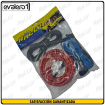 008 Kit Cable #4 4awg Nuevo Rally Car Audio Sonido Plantas