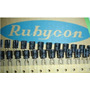 Llegaron! Condensadores/capacitores Rubycom Usa 560uf X 6.3v