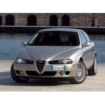 Biseles Borde De Ventana Alfa Romeo 156. Años 98-04