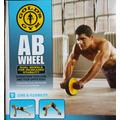 Rueda Para Abdominales Golds Gym - Ab Wheel