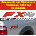 Pdr12 Kit De Calcomania  Sticker  Ford Ranger F-150 Fx4