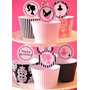 Mega Kit Imprimible Cupcake Fashion + Capecillos + Wrappers