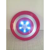 Escudo Capitan America Con Luces Y Sonido... Unicos!!!