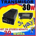 Transmisor Fm Para Radio 30w Emisora Stereo No Icom Ni Yaesu