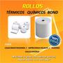 Rollos Papel Bond 70x65mm Para Impresoras Fiscales