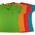 Franelas Polo De Para Dama De Algodon Suave, Colores Variado