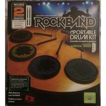 Batería Rockband Original Portable Para Xbox 360 Aprovecha.!