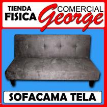 Sofacama En Tela Gamuza , Comercial George -boleita Norte
