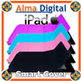 Smart Cover Ipad 2 3 4 Estuche Protector Forro Apple Cuero