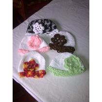Gorros Tejidos A Crochet Para Bebes Y Niñas