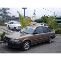 Platina Cromada De Maleta Toyota Corolla Araya
