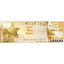 Tarjetas De Invitacion 15 Años Estrella - Epvendedor