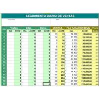 Formato En Excel Control Diario De Ventas