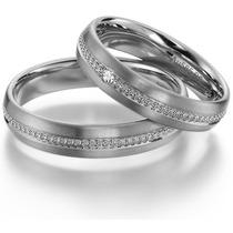 Argollas De Matrimonio Alianzas Aros De Boda Oro 18 Kilates.