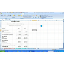 Registro Nacional De Contratistas, Reexpresión Estados Finan