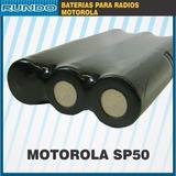 Bateria Motorola Sp50 Estandar Hnn9018 7,5v 1200mah Larga