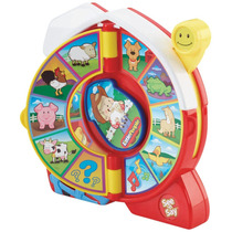 Granja Musical Fisher Price Reloj Interactivo Little People