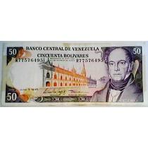 1995 5 De Junio R Billete De 50 Bolívares