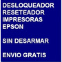 Desbloqueador Reset Impresora Epson T42wd Envio Por Internet