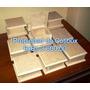 Cajita Tipo Cofre 12x12x6 Tapa Articulada Y Biselada Mdf