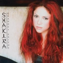 Shakira. Grandes Exitos. Cd Original Nuevo.