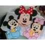 Figuras En Anime Minie Y Mickey Decoracion Fiestas