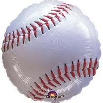 Globos Metalizados Pelotas De Beisbol 18 Pulg